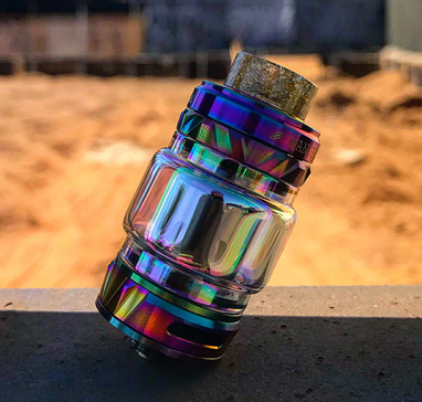 Vapemons monster mesh tank 0.15Ω 8ml iridescent glass tube